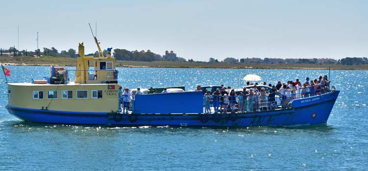 ferry  Guadiana river
