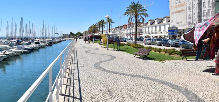 harbour of Vila Real