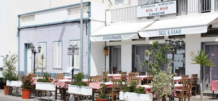 restaurants de fruits de mer Santa Luzia