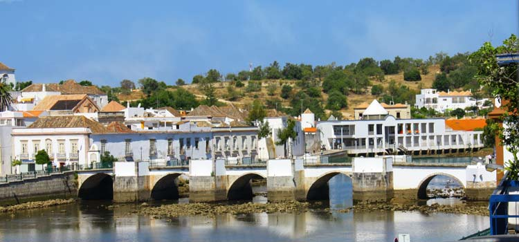 tavira portugal Roman Bridge