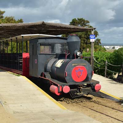 petit train Praia do Barril