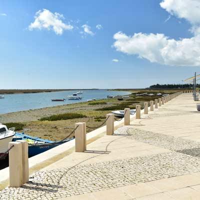 Portugal Algarve Karta.Santa Luzia Algarve Portugal