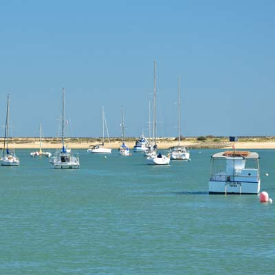 Le acque riparate di Ria Formosa